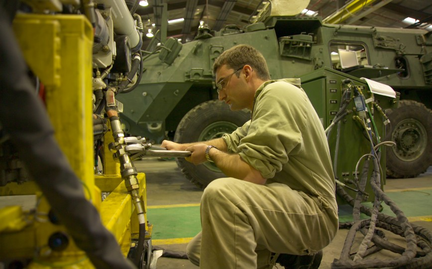 Army Automotive Technician landscape