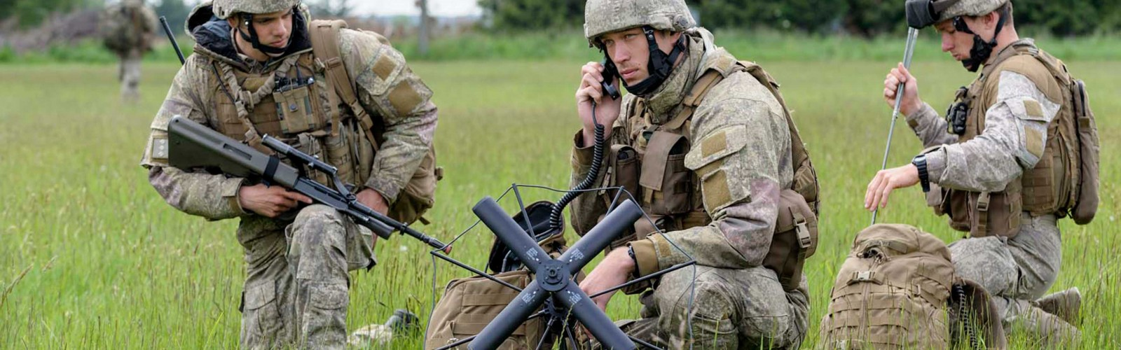 Army Communication Systems Operator full width