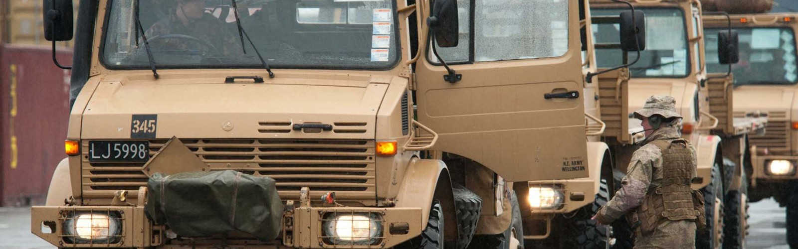 Army Driver full width