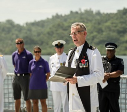 navy chaplain square